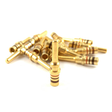 25x Deutsch DTP Pin 14-12 AWG Gold Contact Male Terminal for DTP Connector Plug