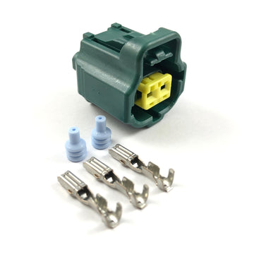 Lexus IS300 2JZ-GE 2-Pin Water Coolant Temperature Connector Plug Kit
