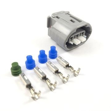 Toyota 1JZ 3-Pin Oval Alternator Connector Plug Kit