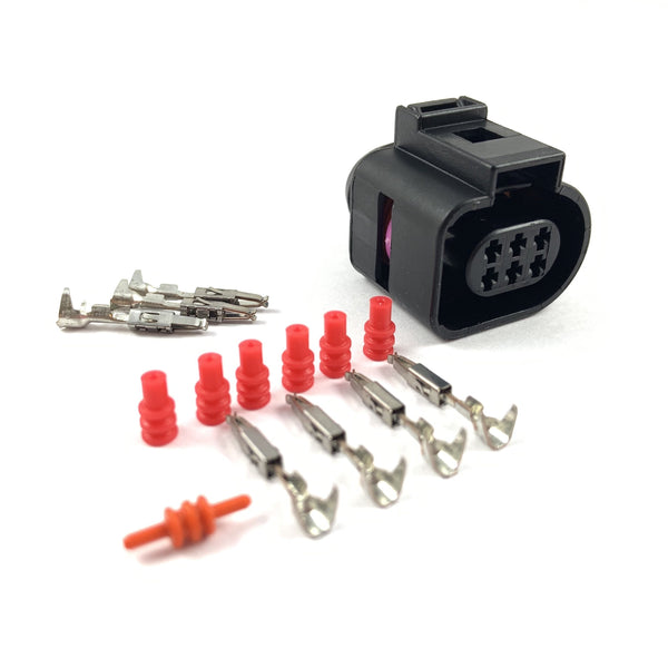 Bosch LSU 4.9 6-Pin Lambda Sensor Connector Plug Clip Kit