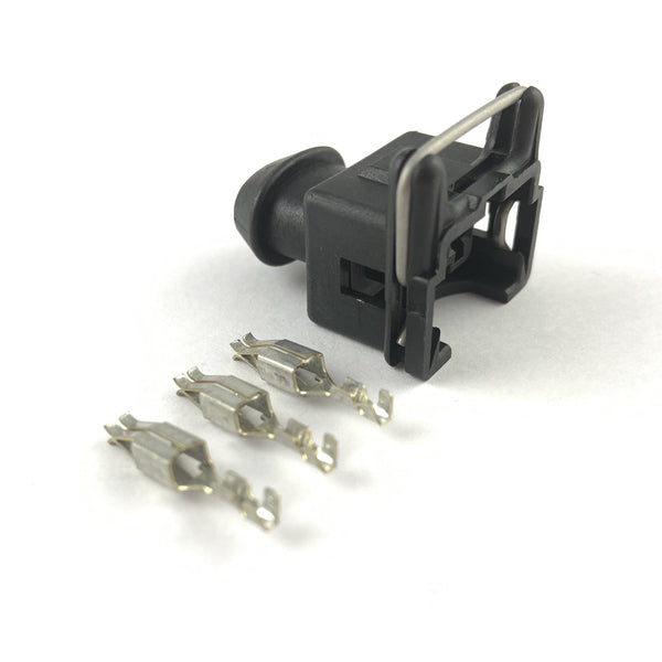 Bosch Delphi EV1 LK-2 2-Pin Fuel Injector Connector Plug Clip Kit