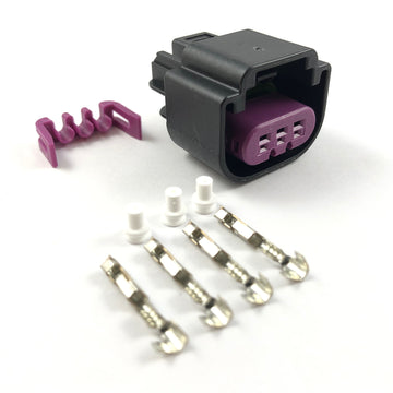 MoTeC E85 Ethanol 3-Pin Flex Fuel Sensor Connector Plug Kit