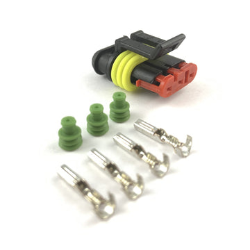 Borg Warner 3-Pin Turbo Speed Sensor Connector Plug Clip Kit