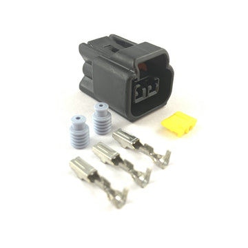 Denso 2-Pin Pencil Ignition Coil Pack Connector Plug Kit