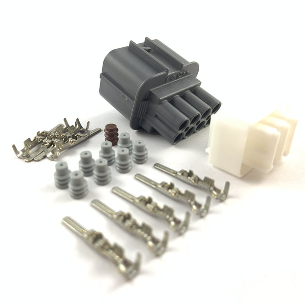 NTK Lambda Male 8-Pin Sensor Connector Plug Kit