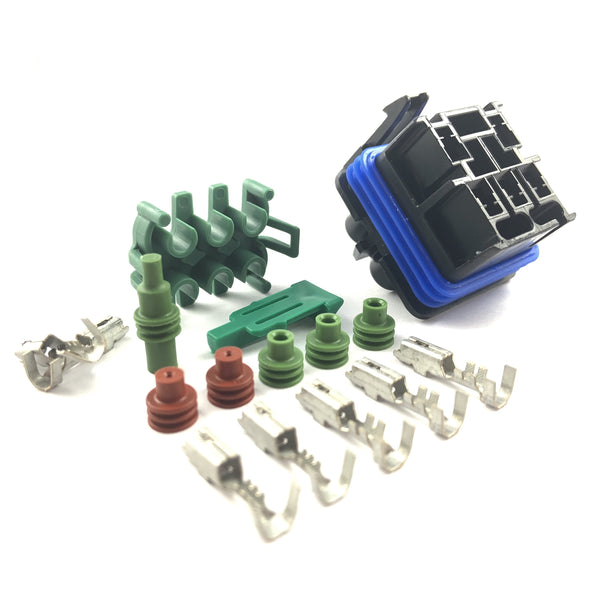 Aptiv Delphi 35A Sealed Relay Connector Kit (5-Way)