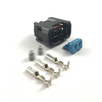 Honda S2000 2-Pin Fuel Injector Connector Plug Clip Kit