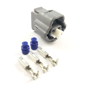 Toyota 1JZ-GE 1JZ-GTE 2-Pin Intake Air Temperature (IAT) Connector Plug Clip Kit