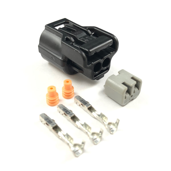 Honda K-Series K20 K24 2-Pin Water Coolant Temp Connector Plug Clip Kit