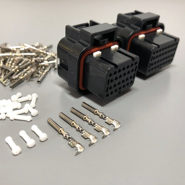 MoTeC ECU Connector Plug Clip Kit, M800, M600, M400, M84, 26-Pin + 34-Pin