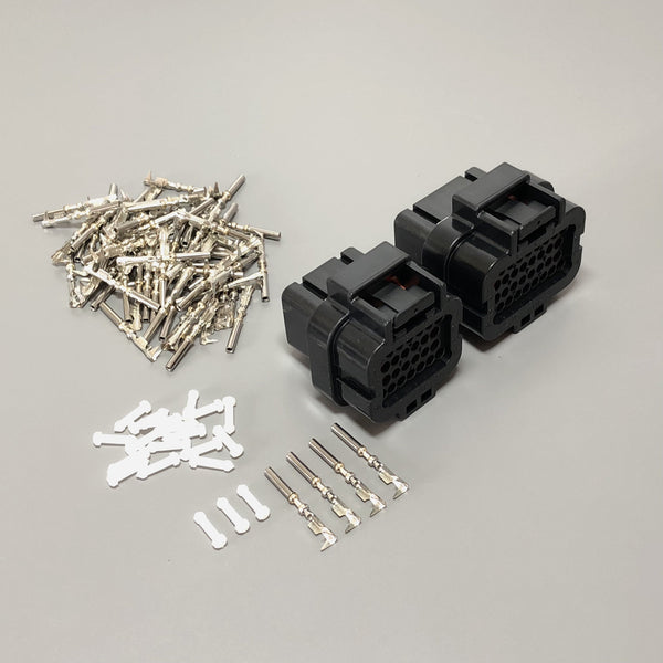 MoTeC PDM Connector Plug Clip Kit, PDM15, PDM30, E888, 26-Pin + 34-Pin