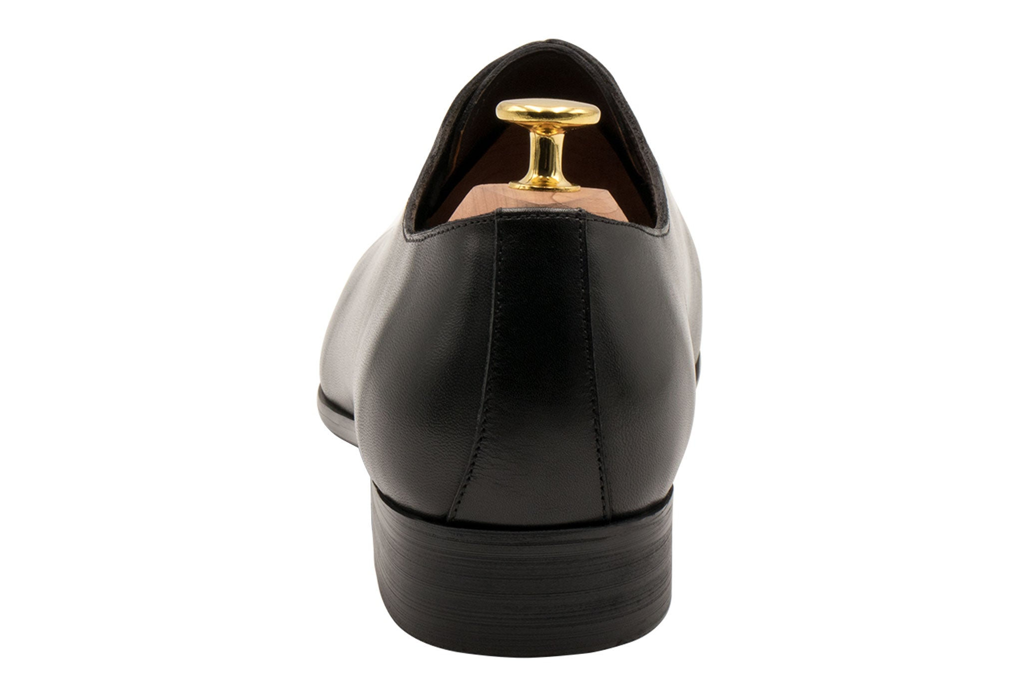 Carlota Wholecut Black Oxford