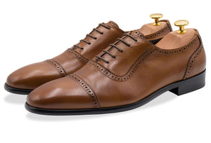 Tartagal Straight Cap Chestnut Oxford