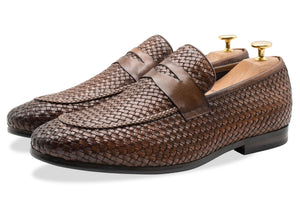 Viejo Chestnut Penny Loafer