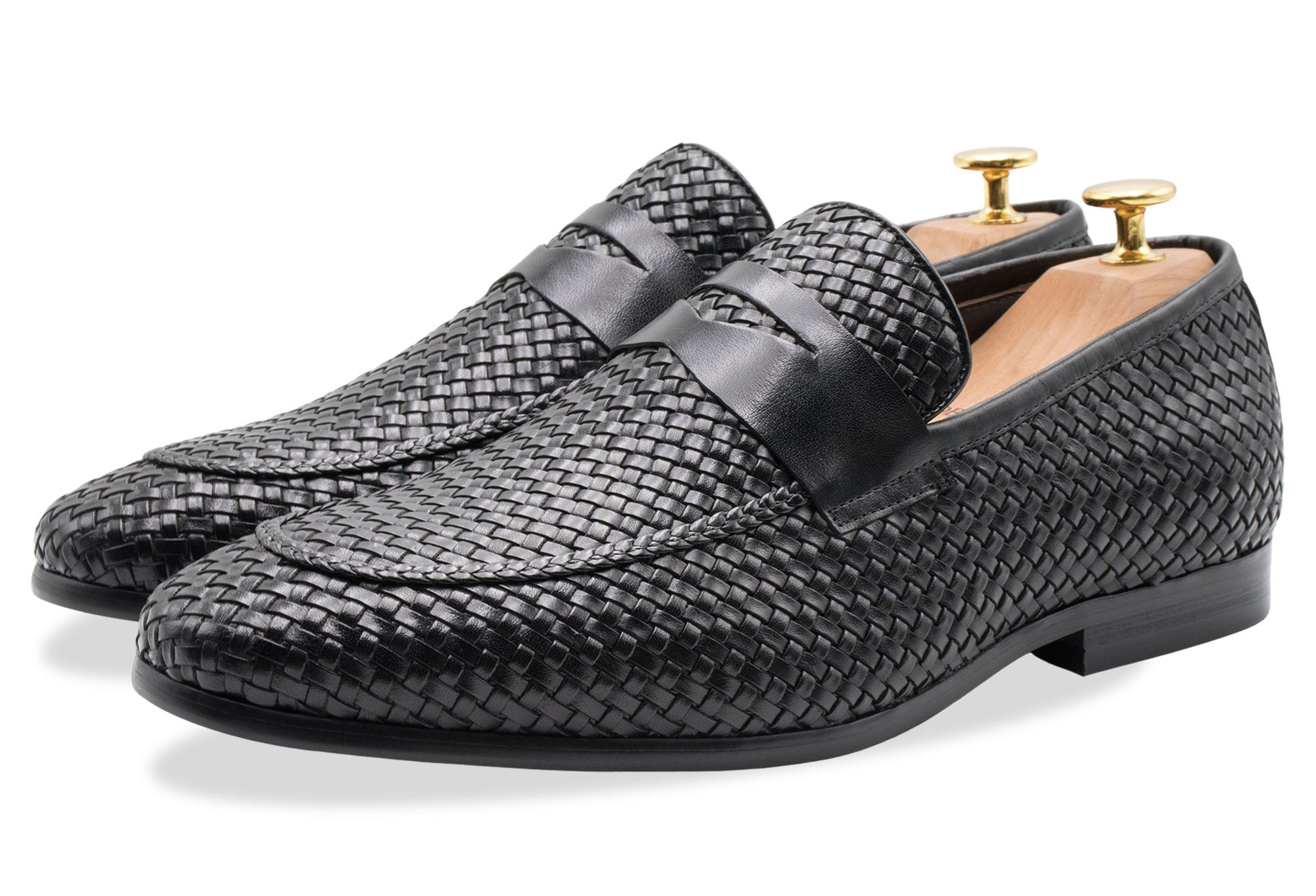 Viejo Black Penny Loafer