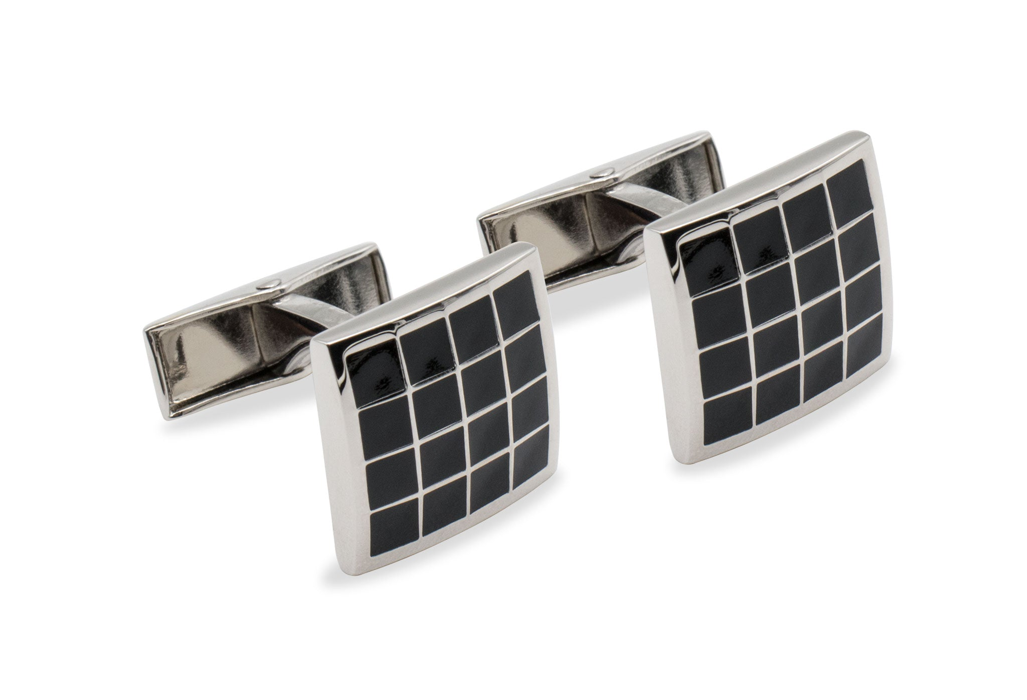 Pampatar Chrome Cufflink