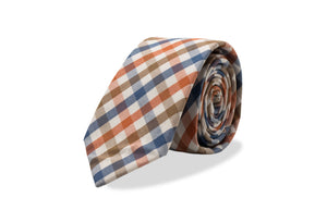 Kasai Japanese Cotton Tie & Pocket Square