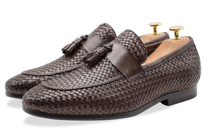 Valle Walnut Tassel Loafer