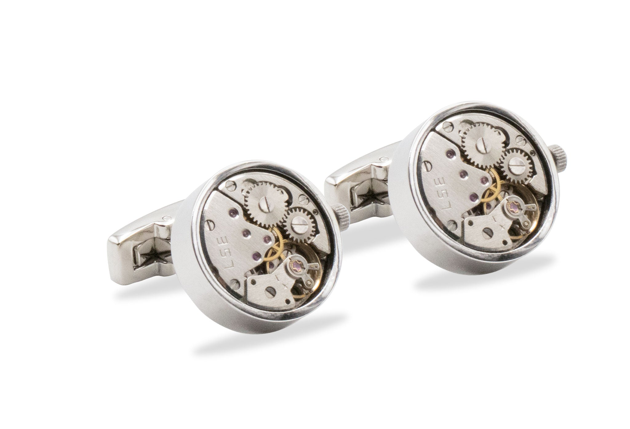 La Mar Watch Movement Cufflinks