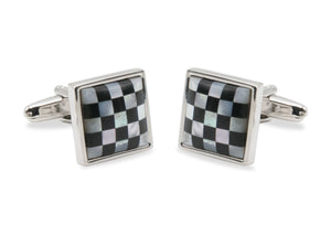 Ciudad II Checks Cufflinks