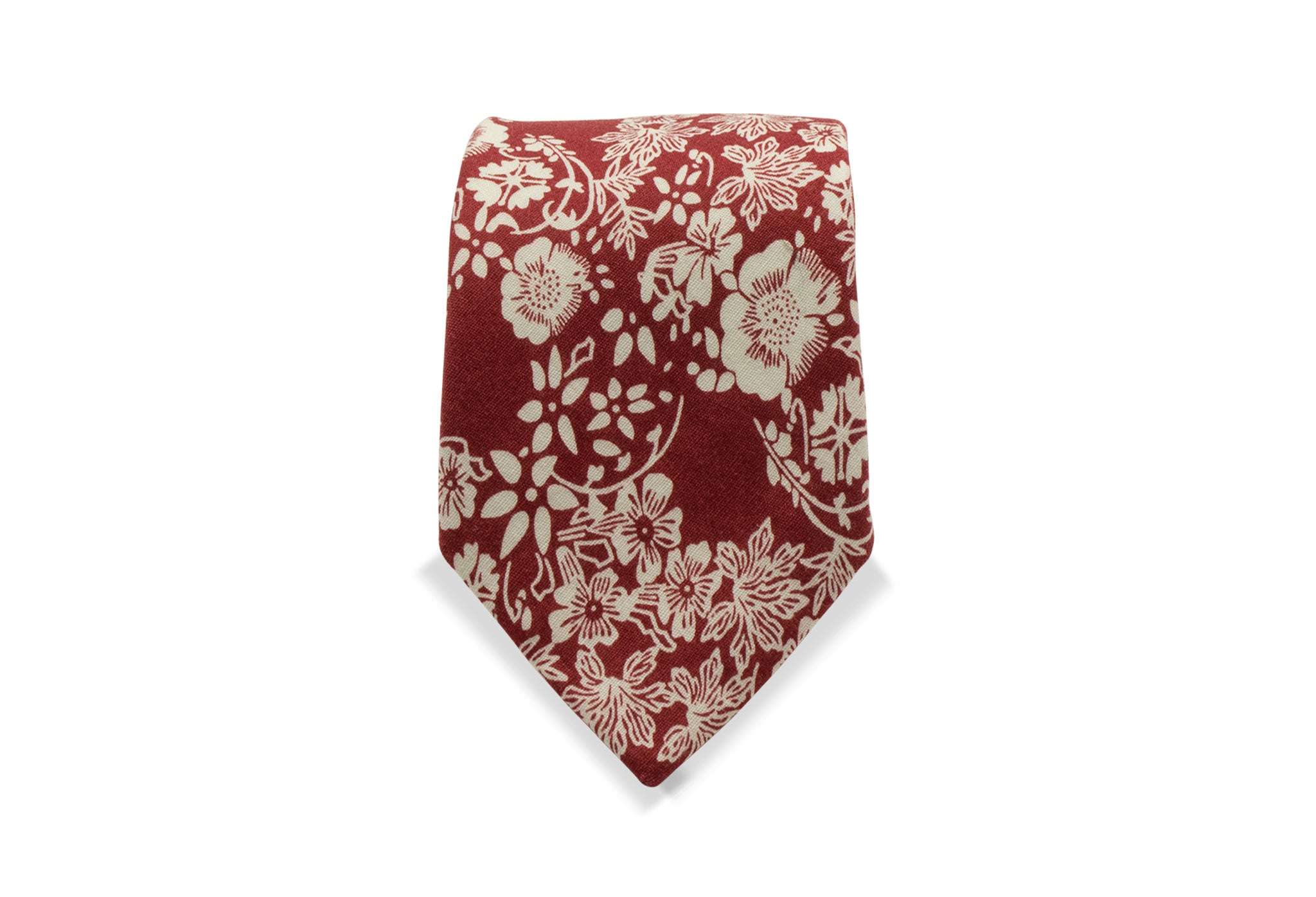 Shimamaki Japanese Cotton Tie & Pocket Square