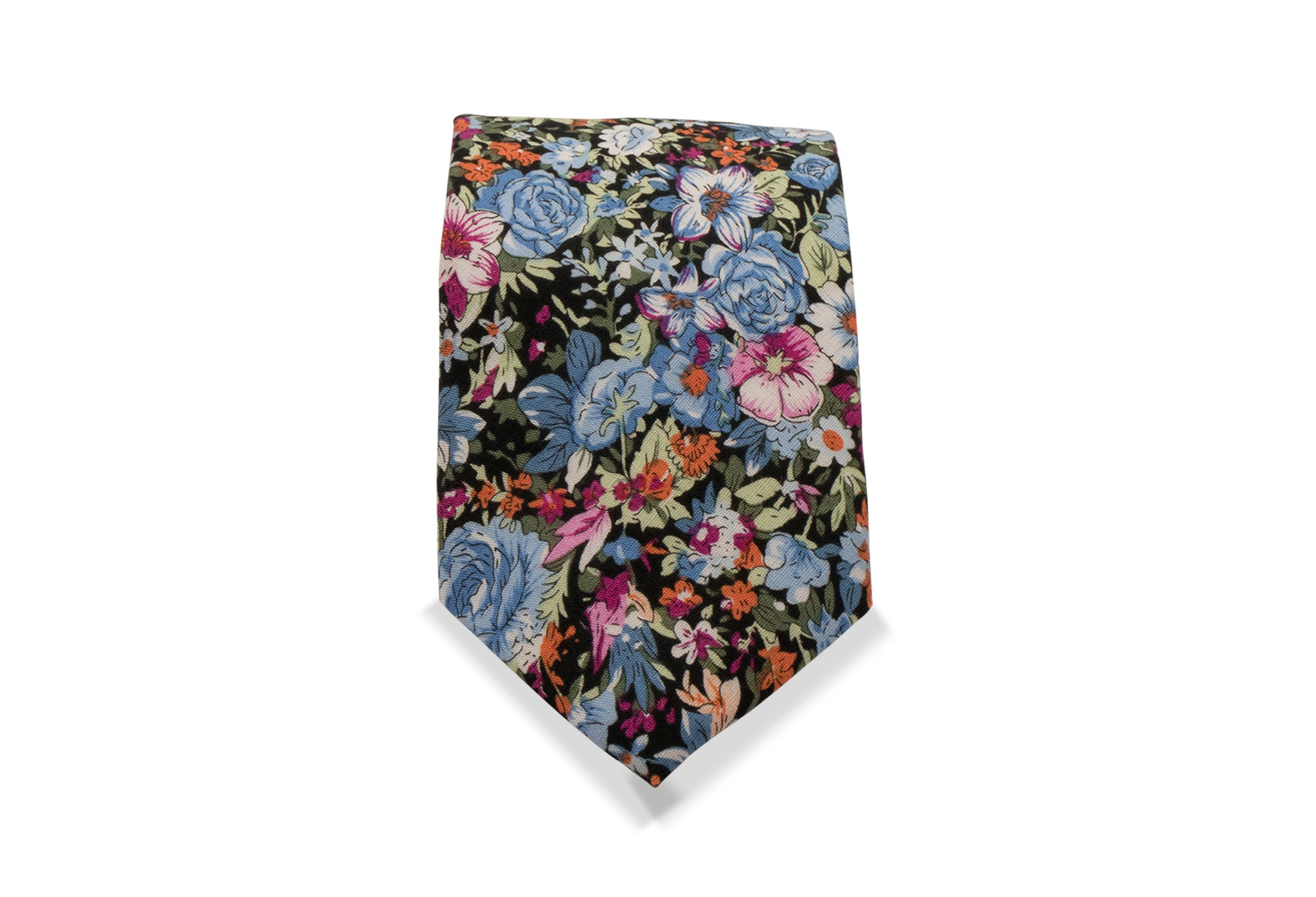 Akaigawa Japanese Cotton Tie & Pocket Square
