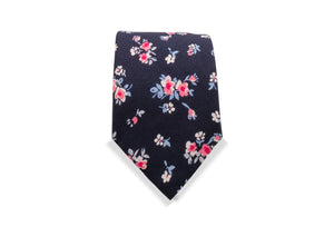 Shosanbetsu Japanese Cotton Tie & Pocket Square