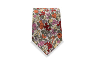 Tsurui Japanese Cotton Tie & Pocket Square