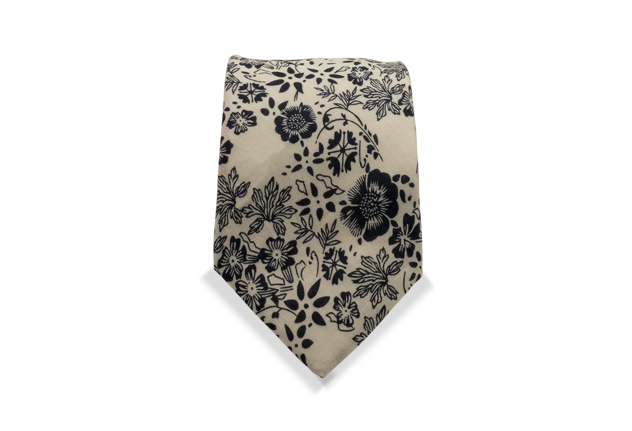 Sakegawa Japanese Cotton Tie & Pocket Square