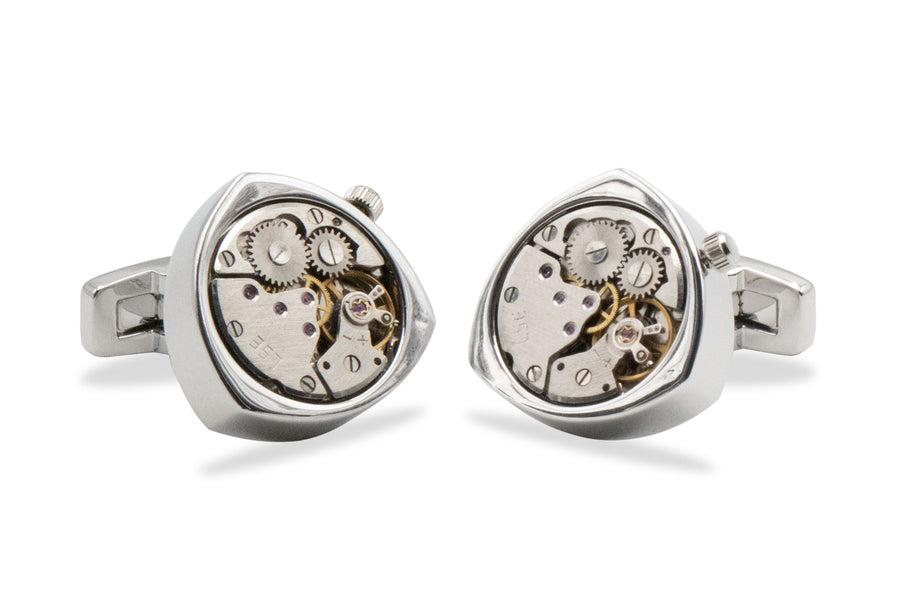 Cabimas Watch Movement Cufflinks