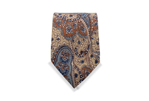 Okura Japanese Cotton Tie & Pocket Square