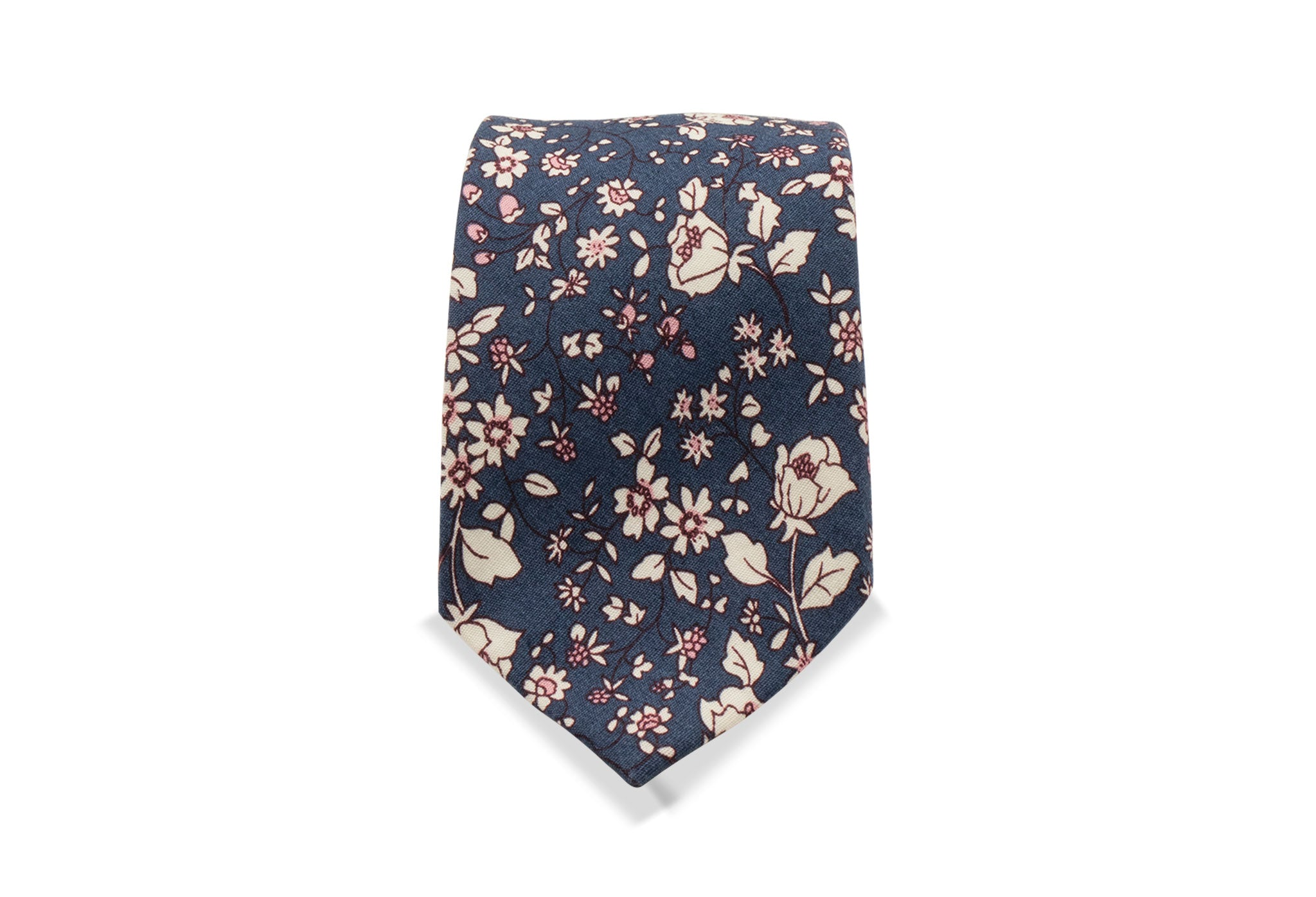 Abuta Japanese Cotton Tie & Pocket Square