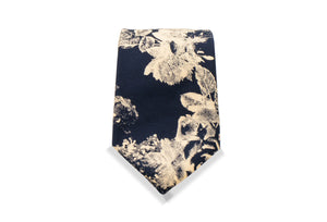 Ogimachi Japanese Cotton Tiev& Pocket Square