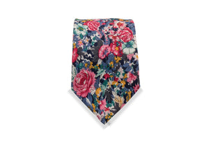 Tsumago Japanese Cotton Tie & Pocket Square