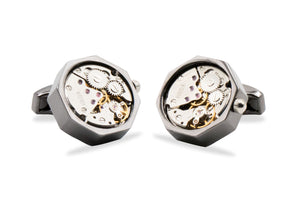 Chivacoa Watch Movement Cufflinks