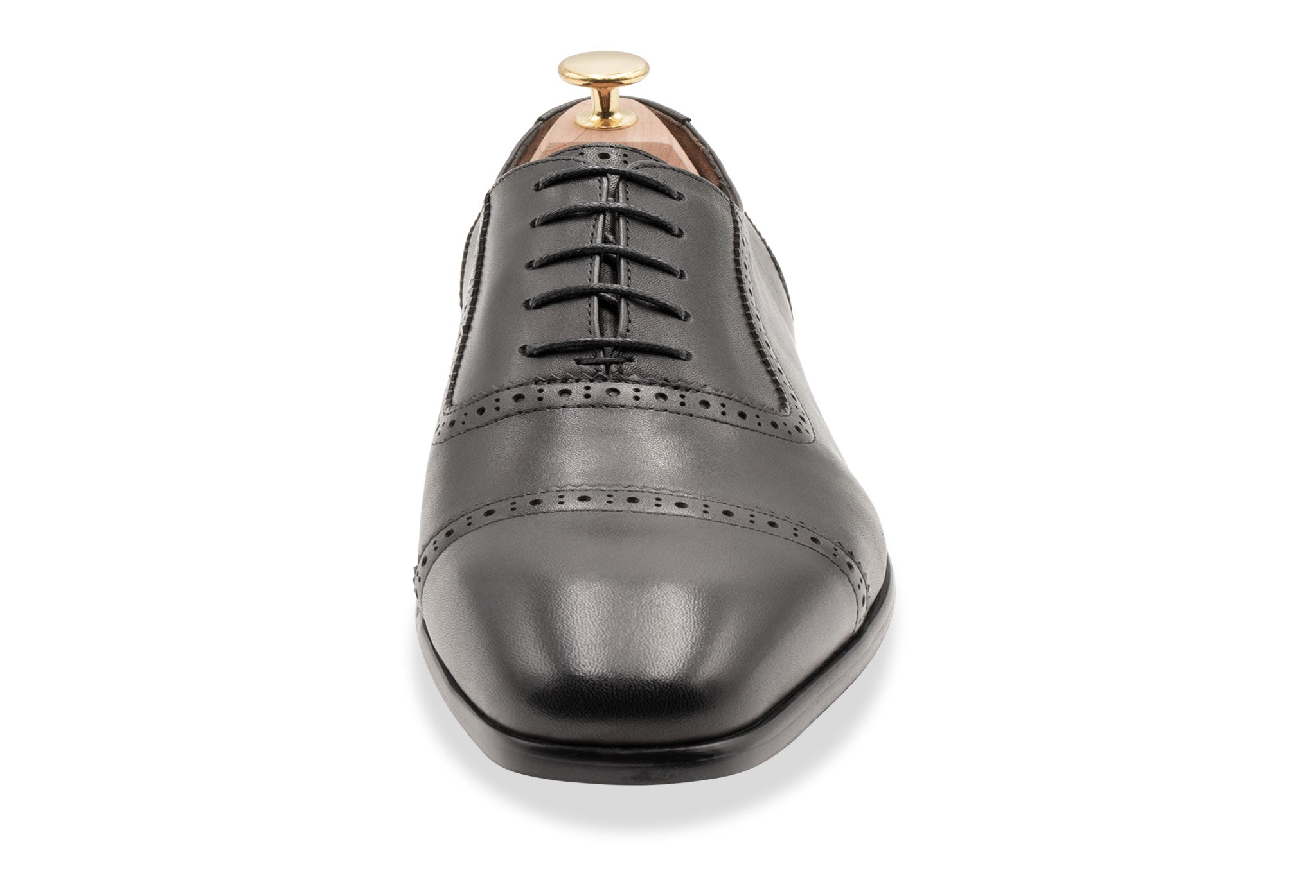 Tartagal Straight Cap Black Oxford