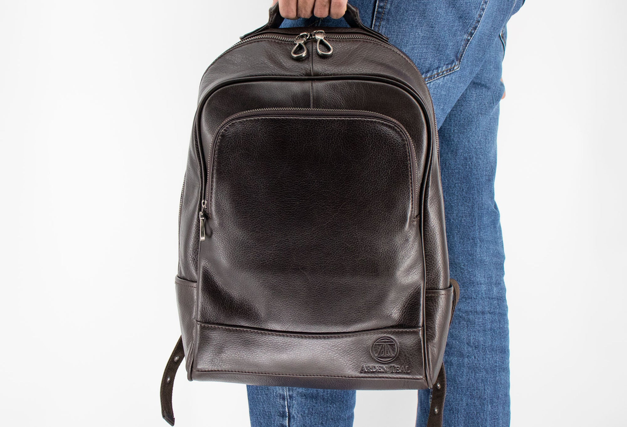 Sevilla Walnut Leather Backpack