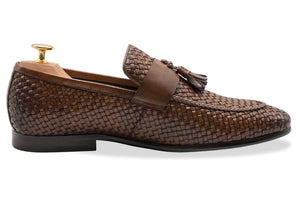 Valle Chestnut Tassel Loafer