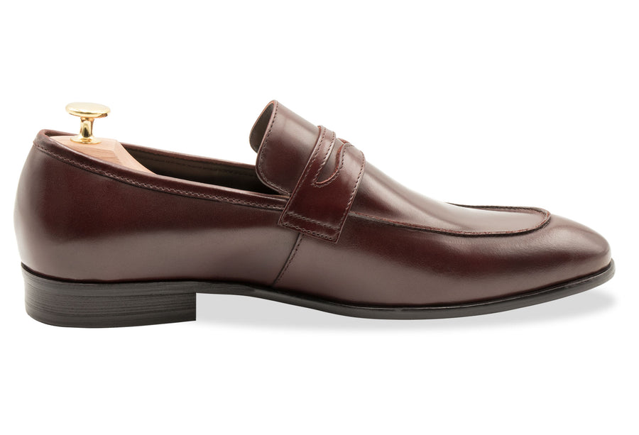Olavarria Oxblood Penny Loafer