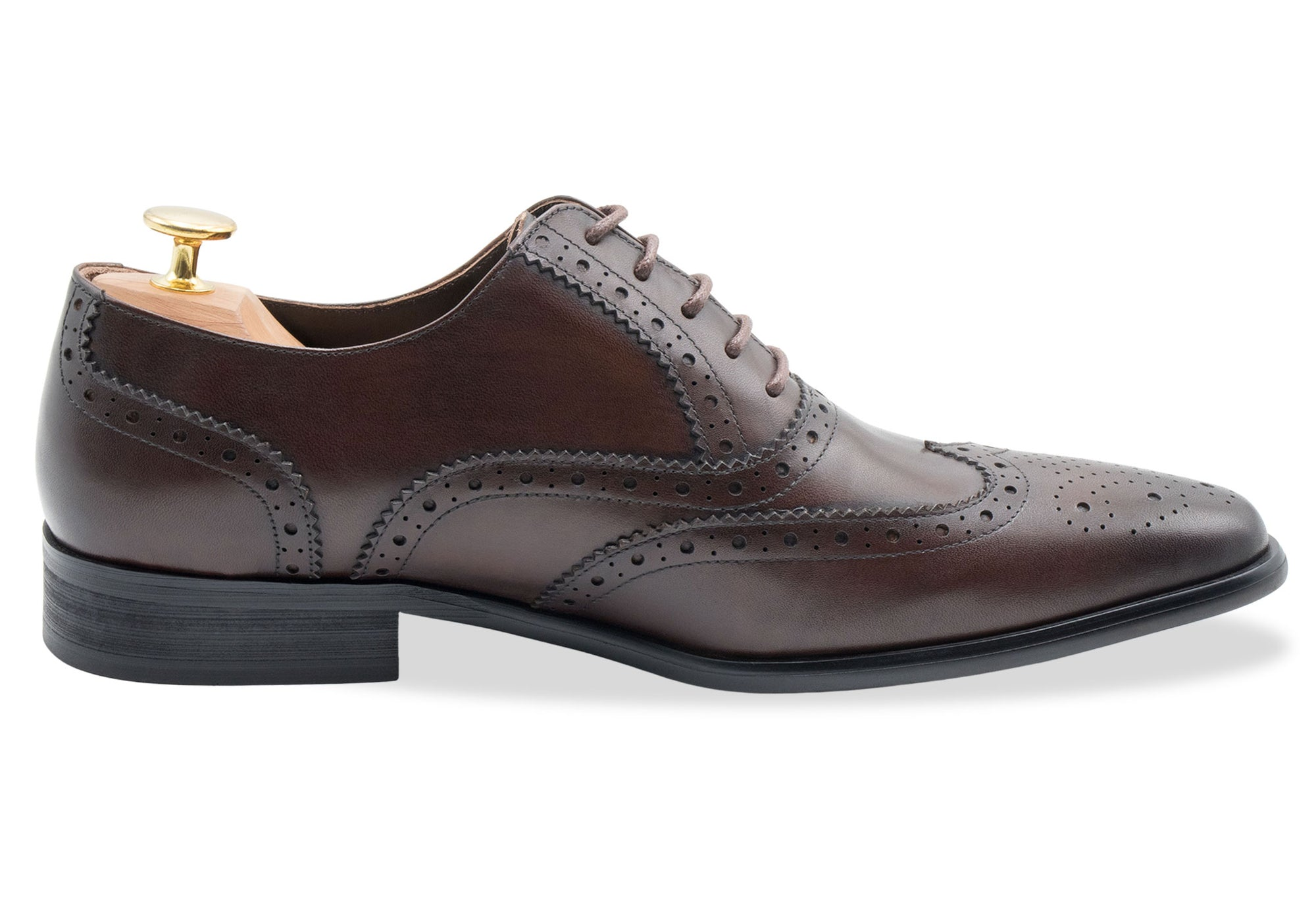 Salvador Wingtip Walnut Oxford