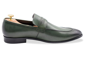Olavarria Teal Penny Loafer