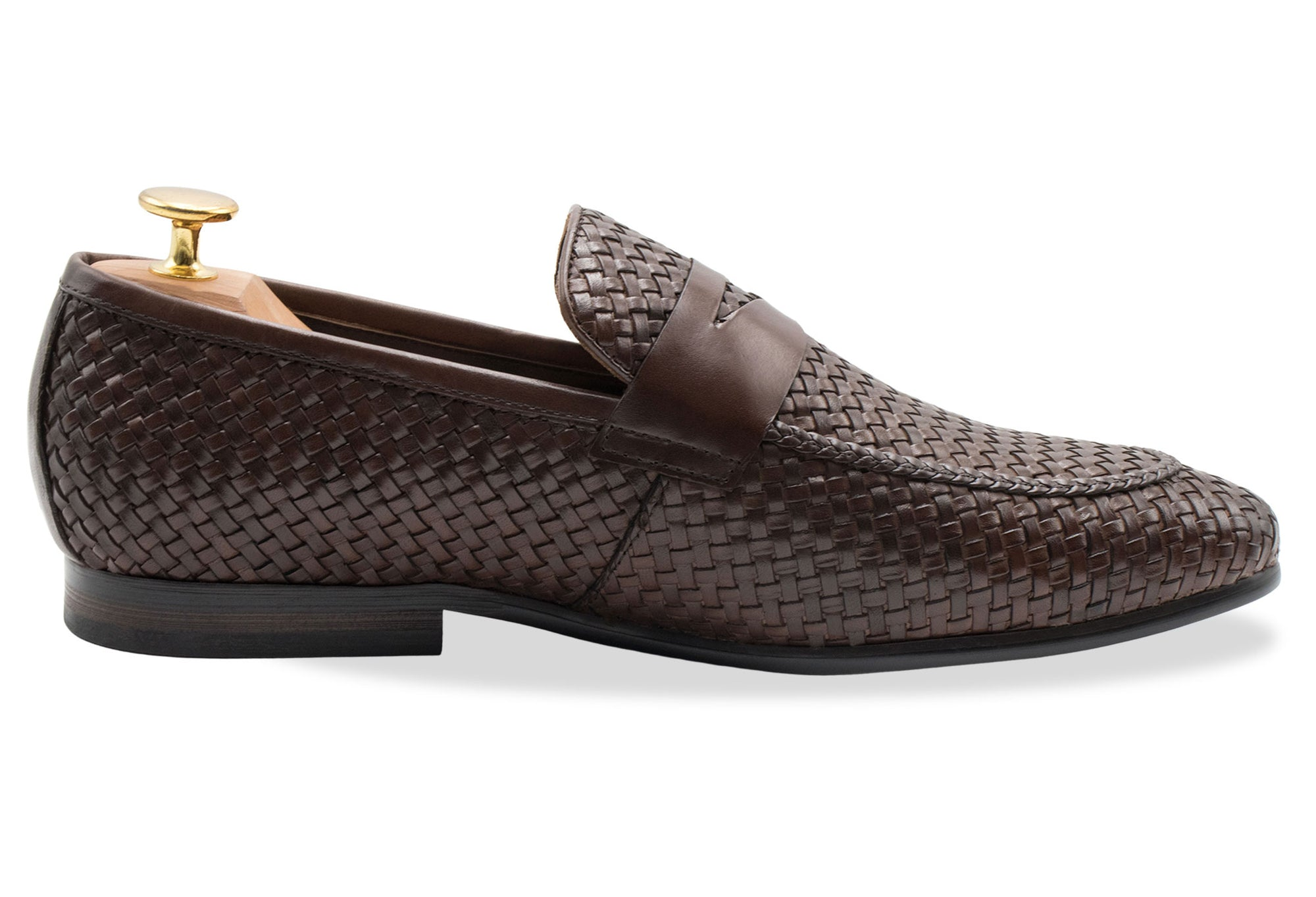 Viejo Walnut Penny Loafer