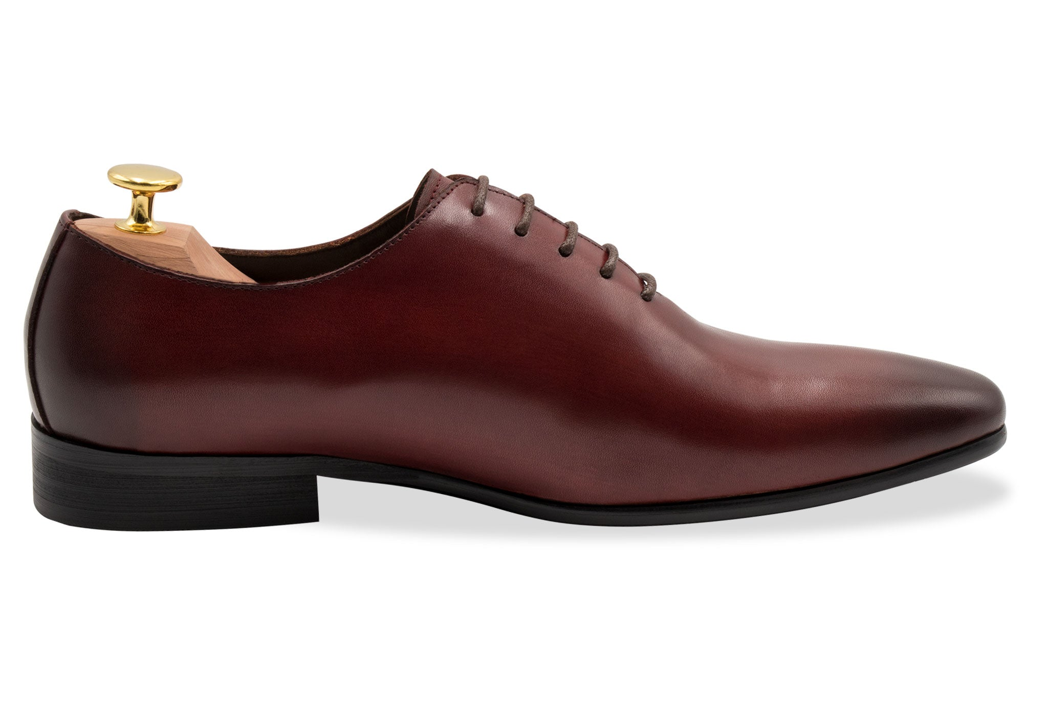 Carlota Wholecut Oxblood Oxford