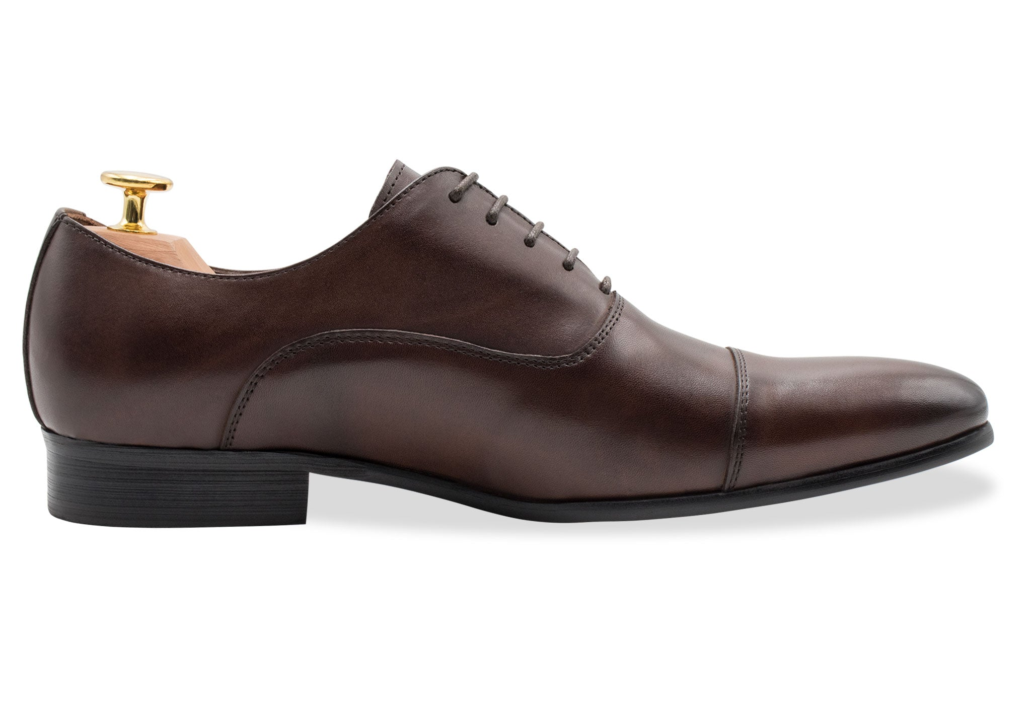 Catamarca Straight Cap Walnut Oxford