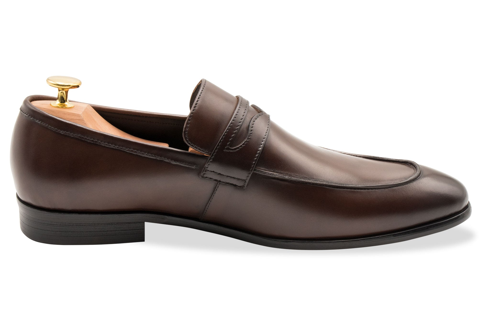 Olavarria Walnut Penny Loafer