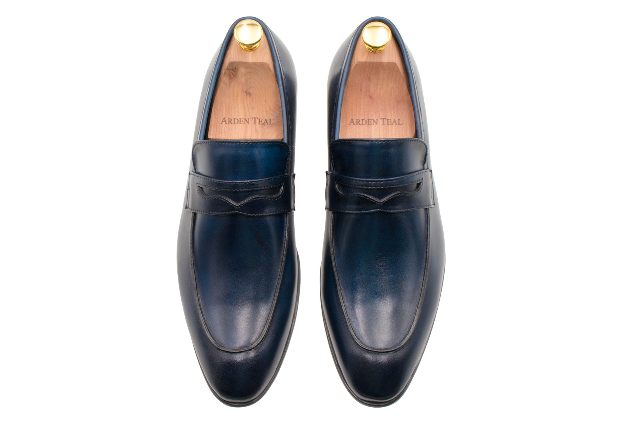 Olavarria Navy Penny Loafer