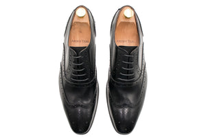 Salvador Wingtip Black Oxford