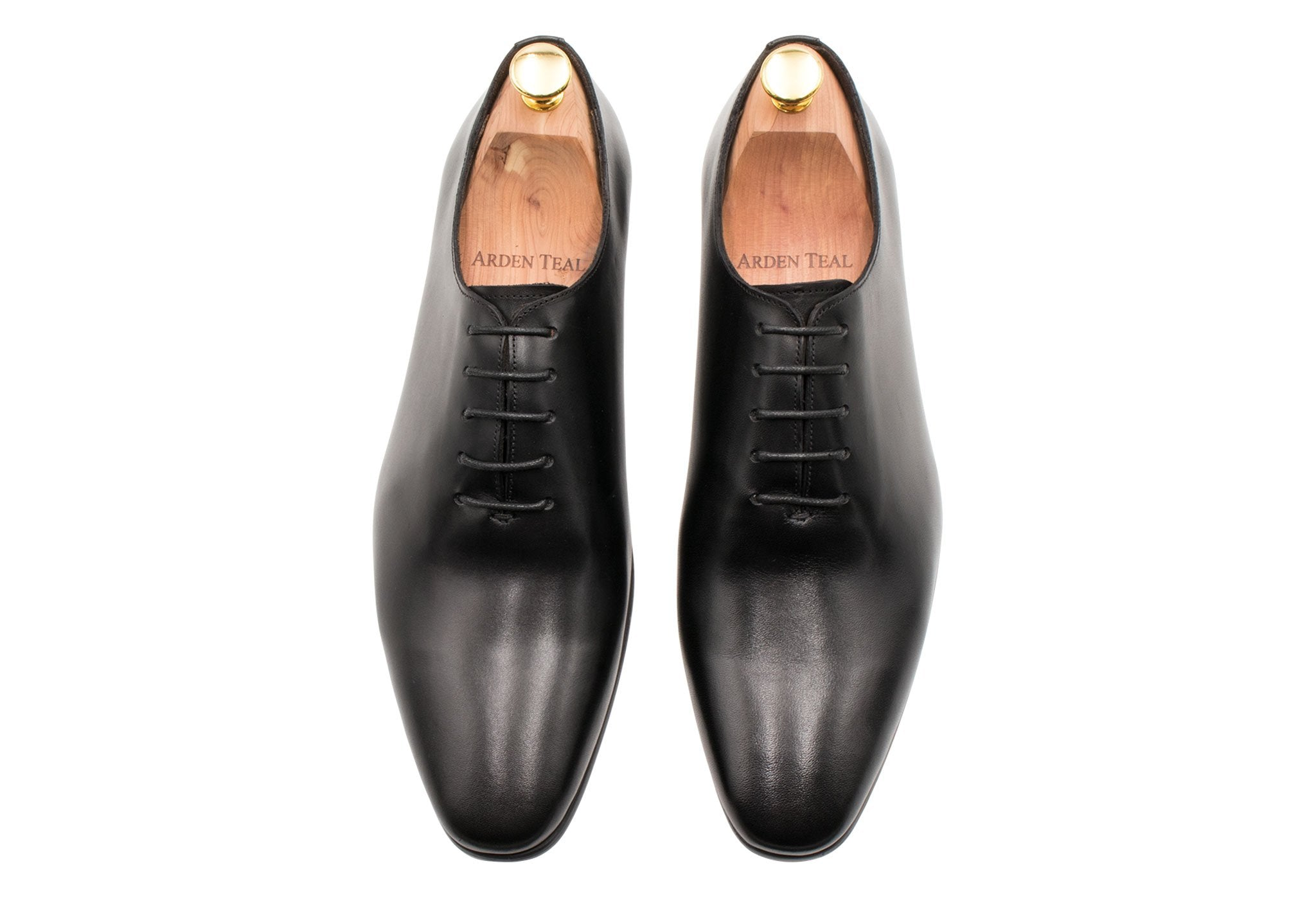 Carlota Wholecut Blake Stitched Black Oxford