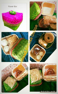 Palm leaf Gift box- Sweets and Savories