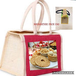 Jute bag Snacks Pack